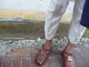 Aceras en Casco Viejo