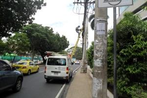 Aceras de mi ciudad. Avenida Manuel Espinosa B.
